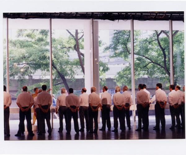 13) Côr Meibion, 1997, Blitz Festival commission South Bank Centre, London