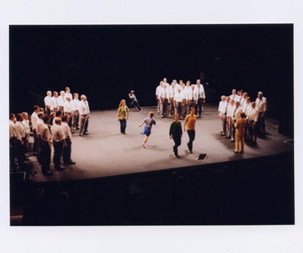 14) Côr Meibion, 1997, Theatr Gwynedd Bangor, Theatr Harlech, National Museum, Cardiff